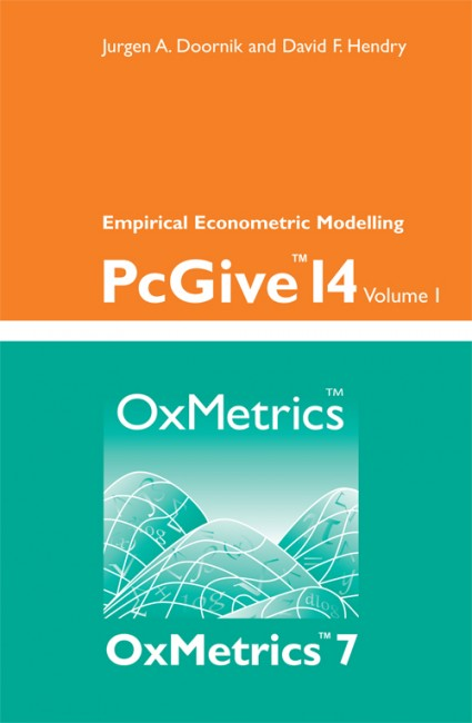 PcGive 14 Volume I: Empirical Econometric Modelling