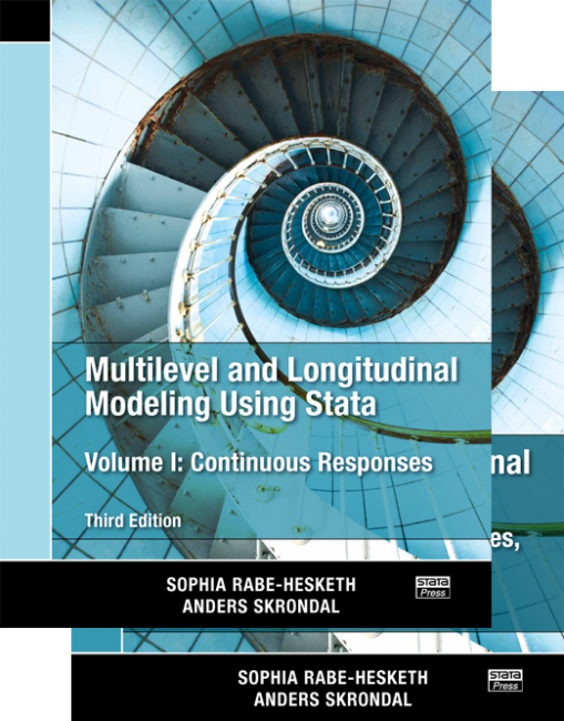 Multilevel and Longitudinal Modeling Using Stata, 3rd Edition (2 Volumes)