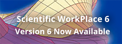 New Scientific WorkPlace, Scientific Word and Scientific Notebook v.6