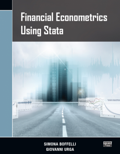 Financial Econometrics Using Stata - New from Stata Press