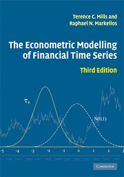 The Econometric Modelling of Financial Time Series, 3rd Edition