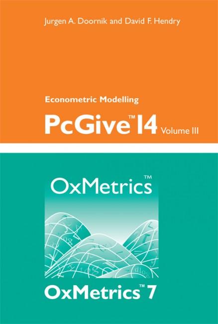 PcGive 14 Volume III: Econometric Modelling
