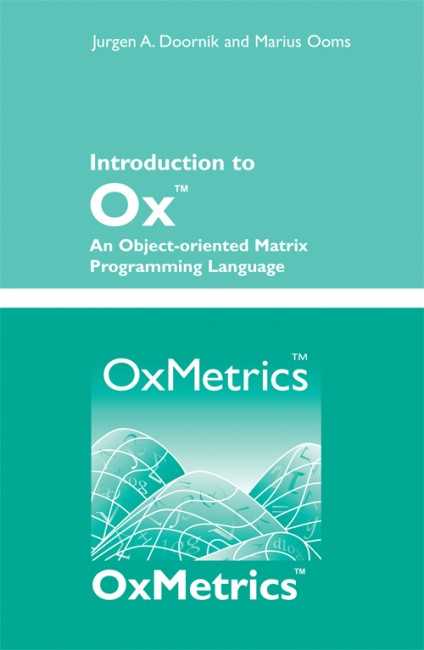 Introduction to Ox: An Object-oriented Matrix Programming Language