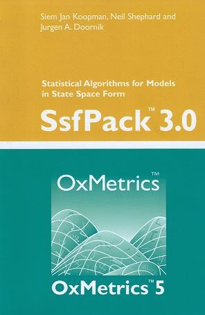 SsfPack 3.0: Statistical Algorithms for Models in State Space Form