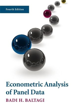 Econometric Analysis of Panel Data, 4th Edition