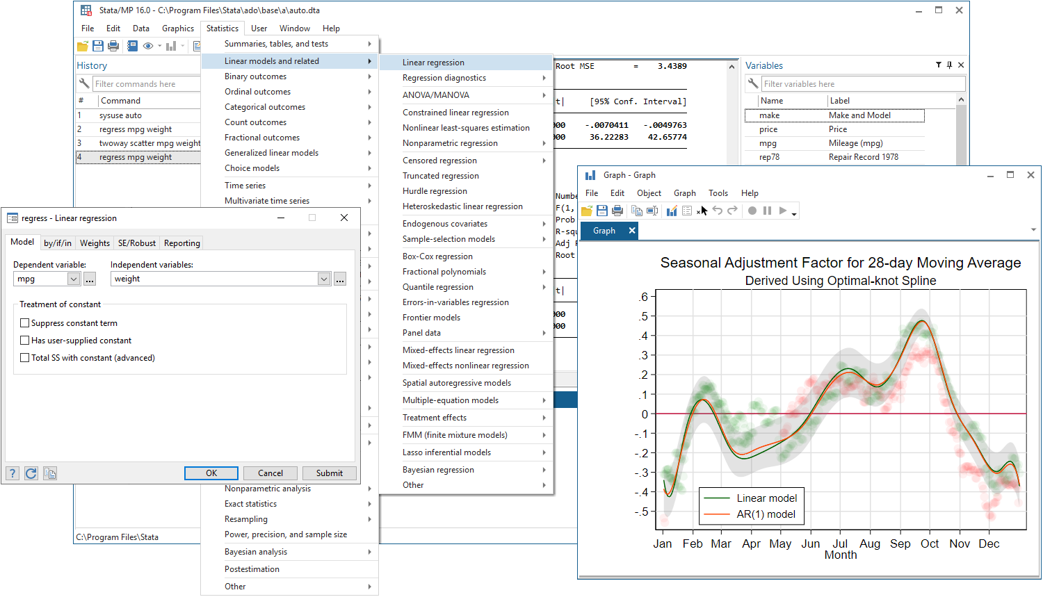 Stata: Software for Statistics and Data Science