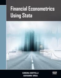 Financial Econometrics Using Stata - New from Stata Press