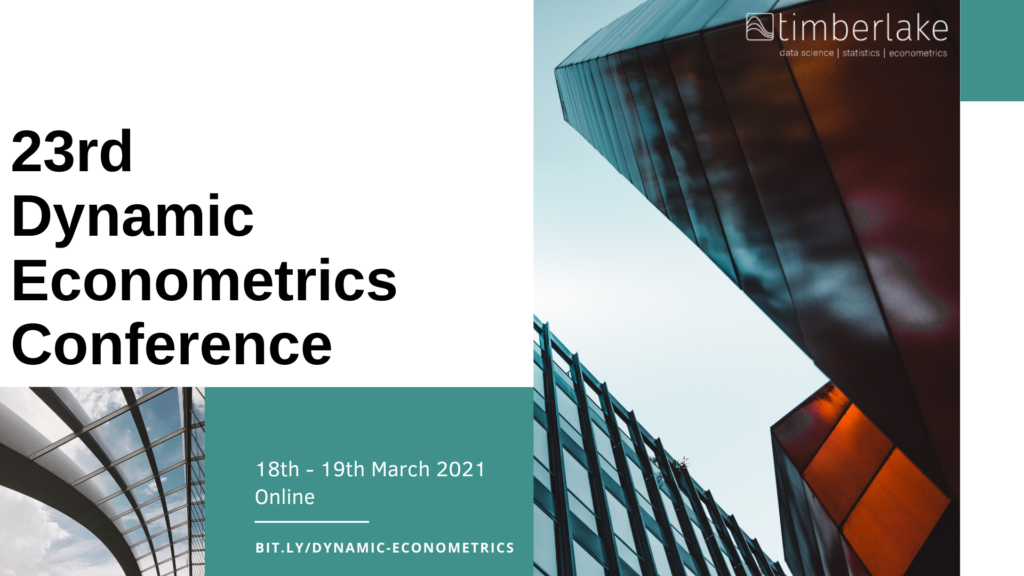 23rd Dynamic Econometrics Conference 2021 Online